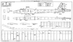 Imp glider model airplane plan