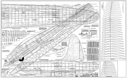 Imperial RC-100 Jetco model airplane plan