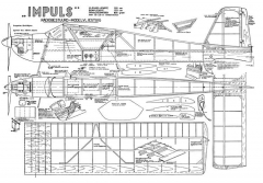 Impulse by E Kreulen model airplane plan