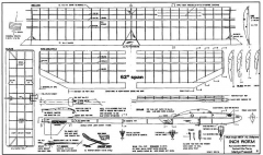Inchworm model airplane plan