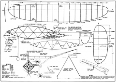 Indoor Champion FM 1947-06 model airplane plan