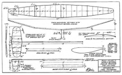 Indoor Tractor model airplane plan