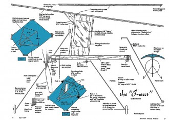 Insect-AAM-04-70 model airplane plan