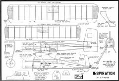 Inspiration model airplane plan