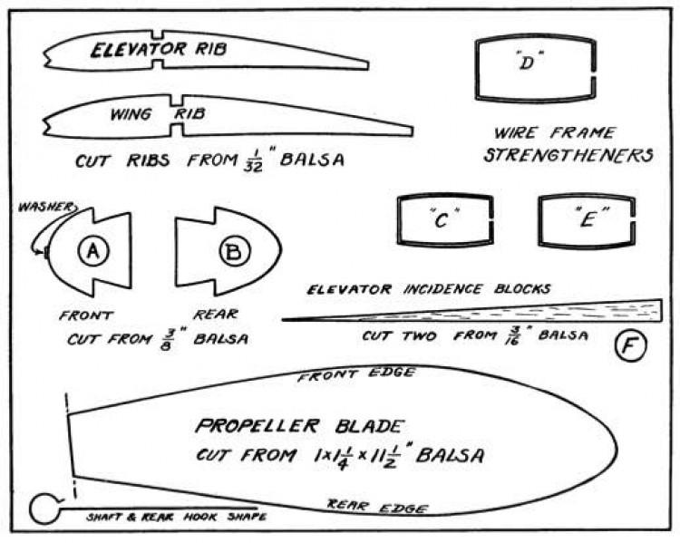 Insuror p3 model airplane plan