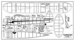 Interstate Cadet 24in model airplane plan