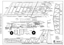 Invictus II-RCM-10-70 448 model airplane plan