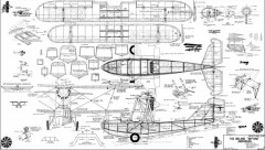 "The Ireland ""Neptune"" Amphibian model airplane plan"