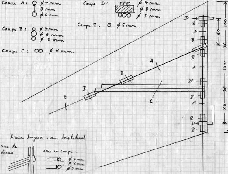 Ixir III p2 model airplane plan