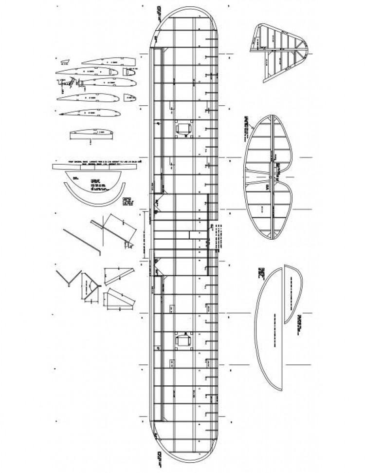J3CUB2  Model 1 model airplane plan