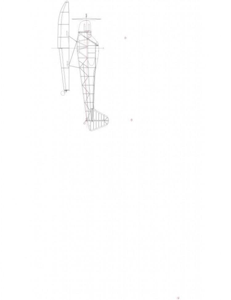 J3CUB3 Model 1 model airplane plan
