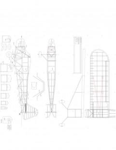 J3CUB Model 1 model airplane plan