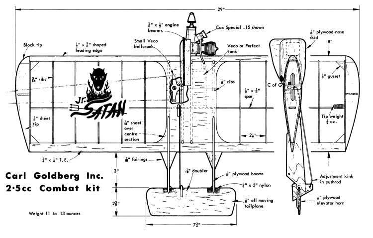 JRSatan model airplane plan