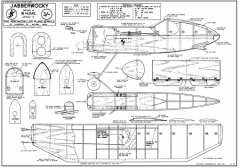 Jabberwocky model airplane plan
