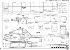 Javal Aero-RCM-05-73 model airplane plan