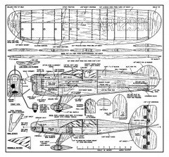 Jeep 2 model airplane plan