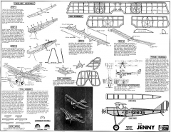 Jenny Sterling kit P6-1 model airplane plan