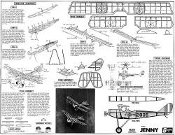 Jenny Sterling kit P6-1 model airplane plan