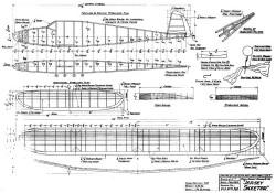 Jersey Skeeter model airplane plan