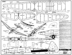 Thermic 36 model airplane plan