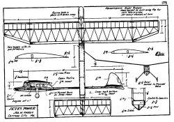 Jetex model airplane plan