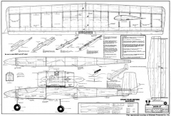 Jetster 20 model airplane plan