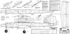 Jetster .20 model airplane plan