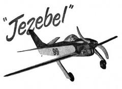 Jezebel model airplane plan