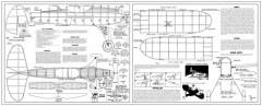 Jimmie Allen Yellow Jacket-25in model airplane plan