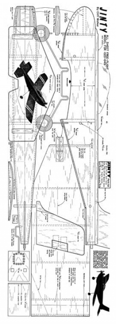 Jinty model airplane plan