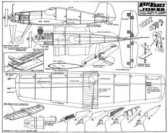Joker kk model airplane plan