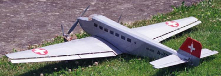 JU52PLAN model airplane plan