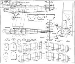 Jungmann model airplane plan