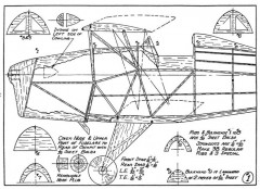 Jungmeister p1 model airplane plan
