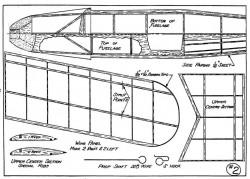 Jungmeister p2 model airplane plan