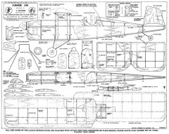 Junior Jim model airplane plan