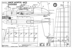 Junior Monitor MkII model airplane plan