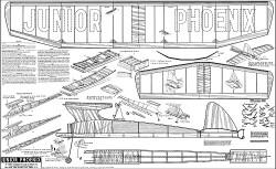 Junior Phoenix Zaic model airplane plan