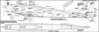 Junior Skylark model airplane plan