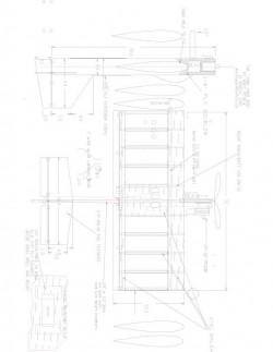 Junk Yard Dog Model 1 model airplane plan