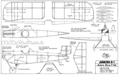 Junkers D-1-Aero Era model airplane plan