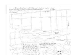 Junkers F-13 model airplane plan