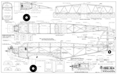 Junkers Ju-52 model airplane plan