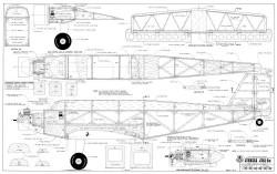 Junkers Ju-52 model airplane plan