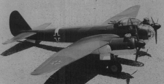 Junkers Ju-88  model airplane plan