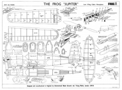 Jupiter2 model airplane plan