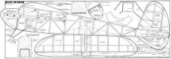 Just Junior 48in model airplane plan