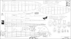 KGS OT model airplane plan