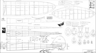 KGS OT model airplane plan