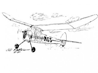 KGS model airplane plan